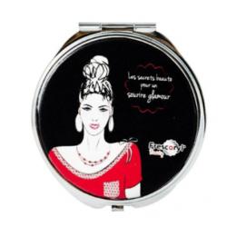 Miroir de poche « Glamour »